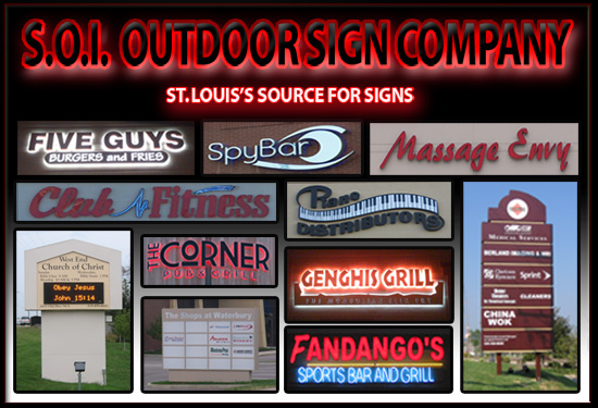 Image about Illuminated wall signs St Louis - have a fun
